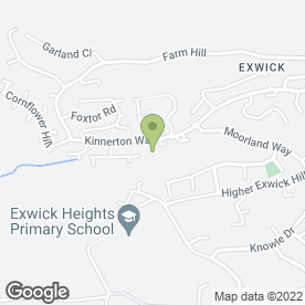 Map of The Exwick Ark in Exeter, devon