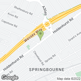 Map of Openings in Bournemouth, dorset