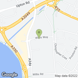 Map of Lok'nStore Self Storage in Poole, dorset