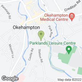 Map of Touchwood Design in Okehampton, devon