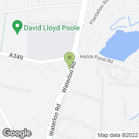 Map of Formula One Autocentres in Poole, dorset