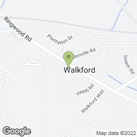Map of Pamper Yourself in Walkford, Christchurch, dorset
