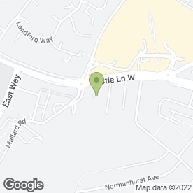 Map of The A.Ampshire Ideal Chimney Sweep in Bournemouth, dorset