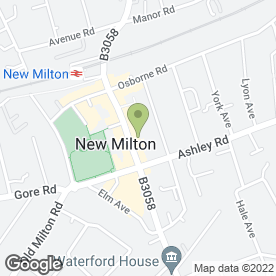Map of Superpet in New Milton, hampshire