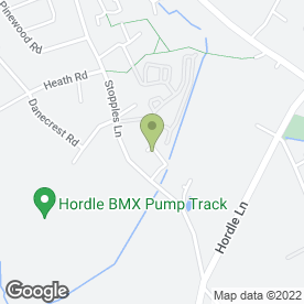 Map of David Hanks School of Motoring in Hordle, Lymington, hampshire