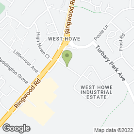 Map of Elite Garages (HiQ) in Bournemouth, dorset