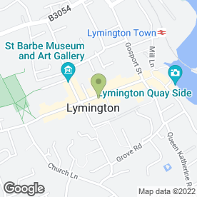 Map of Boots UK in Lymington, hampshire