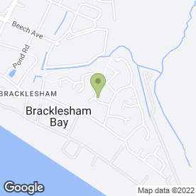 Map of STAC Climate Control in Bracklesham Bay, Chichester, west sussex