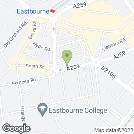 Map of Agas Plumbing & Heating in Eastbourne, east sussex