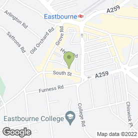 Map of Essential Beauty in Eastbourne, east sussex