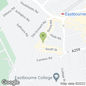 Map of THE GROVE EXPERIENCE in Eastbourne, east sussex
