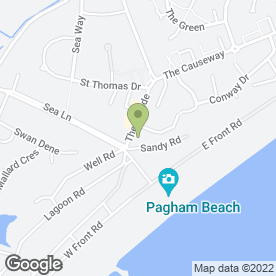 Map of PAGHAM SERVICE STATION in BOGNOR REGIS, west sussex