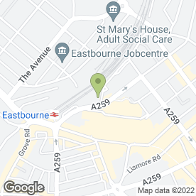 Map of Autowise Tyre & Auto Centres Ltd in Eastbourne, east sussex