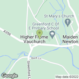 Map of Himalayan Landscaping Ltd in Higher Frome Vauchurch, Dorchester, dorset