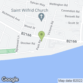Map of Woods Travel Ltd in Bognor Regis, west sussex