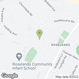 Map of Jennifers Bridal Dress Cleaning Services in Eastbourne, east sussex