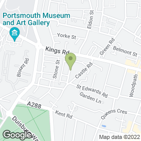 Map of Pashley Web Design in Southsea, Hampshire