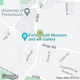 Map of Leonard Gold in Portsmouth, hampshire