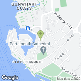 Map of Camber Wines in Portsmouth, hampshire