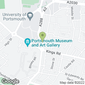 Map of ARC DRUG REHABILTATION in Portsmouth, hampshire