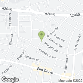 Map of Summerstown Cash & Carry in Southsea, hampshire