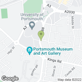 Map of Wig & Pen in PORTSMOUTH, hampshire