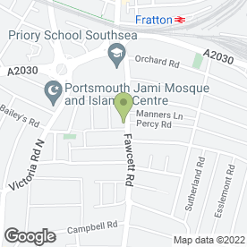 Map of Macks & Son in Southsea, Portsmouth, hampshire