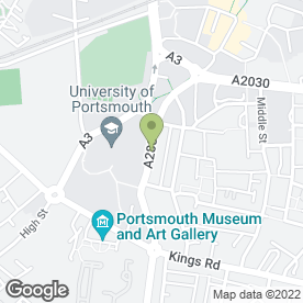 Map of Smoothie Fresh (South Hampshire) in Portsmouth, hampshire