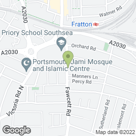 Map of Fakes-Beauty ( G & N Spray Tanning) in Southsea, hampshire
