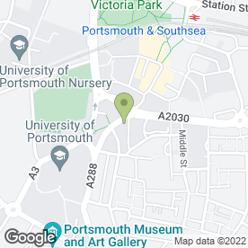 Map of CCL Cleaning Group Ltd in Portsmouth, hampshire