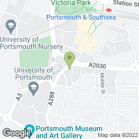 Map of Condor Office Solutions in Portsmouth, hampshire