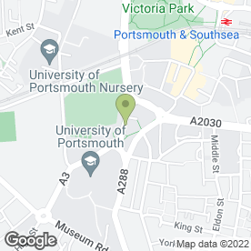 Map of The Registry in Portsmouth, hampshire