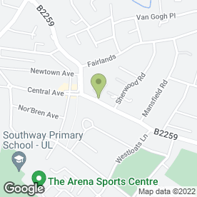 Map of Bersted Autos in Bognor Regis, west sussex