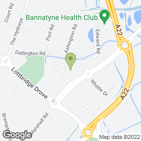 Map of Peugeot - KAP Eastbourne in Eastbourne, east sussex
