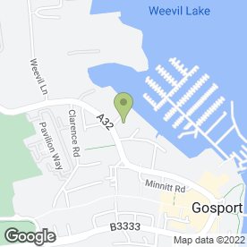 Map of Star Universal (Gosport) Ltd in Gosport, hampshire
