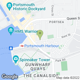 Map of Kirbys Store in Portsmouth, hampshire