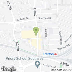 Map of Servian Fire & Security Services Ltd in Portsmouth, hampshire
