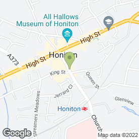 Map of House of Hair in Honiton, devon