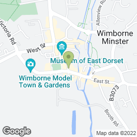 Map of Premier Nails & Beauty in Wimborne, dorset