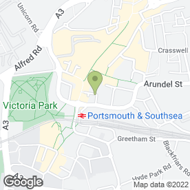 Map of NatWest Bank plc in Portsmouth, hampshire