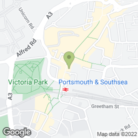 Map of HSBC Bank plc in Portsmouth, hampshire