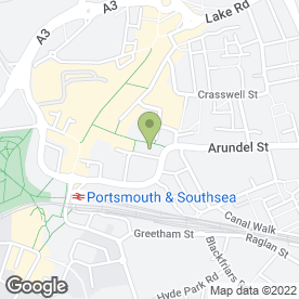 Map of Co-operative Bank plc in Portsmouth, hampshire