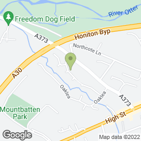 Map of Honiton Handyman in Honiton, devon