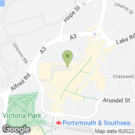 Map of Cascades Shopping Centre in Portsmouth