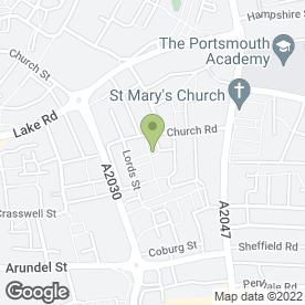 Map of Surepass in PORTSMOUTH, hampshire