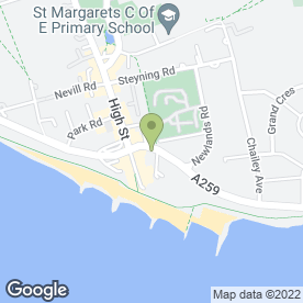 Map of Coastway Veterinary Group in Brighton, east sussex