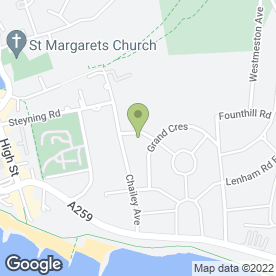Map of Bolingbroke Roofing Ltd in Rottingdean, Brighton, east sussex