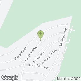 Map of Storm Roofing Contractors in Saltdean, Brighton, east sussex