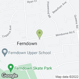 Map of Peking Chinese Food Takeaway in Ferndown, dorset