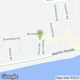 Map of The Sandwich Bar Bakery & Deli in Worthing, west sussex